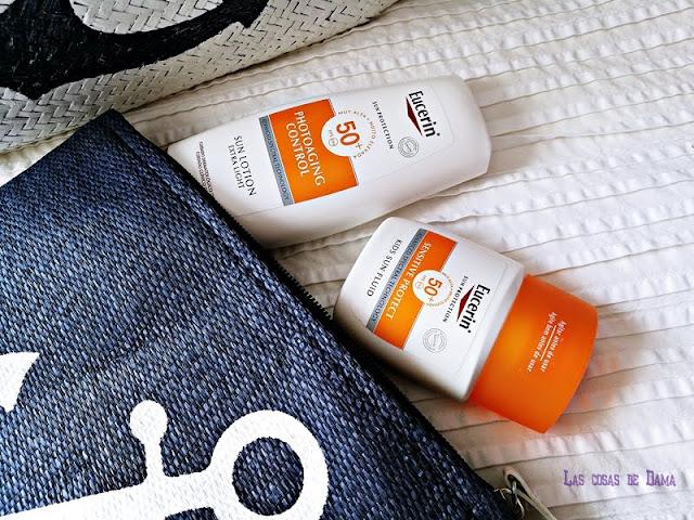 Eucerin Sun Protection protección solar verano farmacia fotoenvejecimiento cuidado de la piel dermocosmética