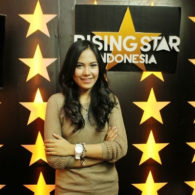 Ghaitsa Kenang Rising Star Indonesia