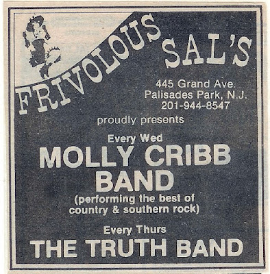 Frivolous Sal's in Palisades Park, New Jersey band lineup