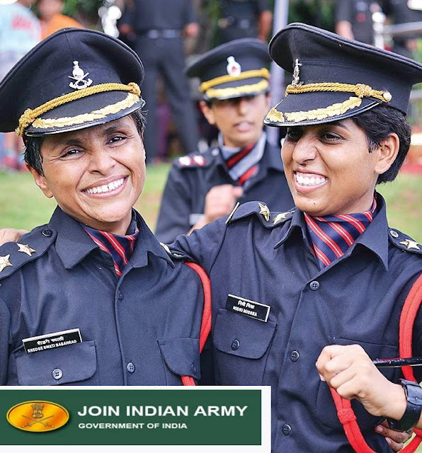 INDIAN ARMY Female recruitment 2019 , military police recruitment 2019