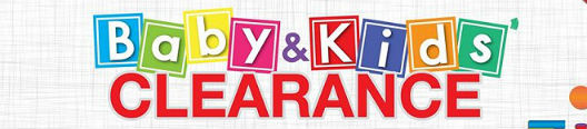Baby & Kids Clearance 2017