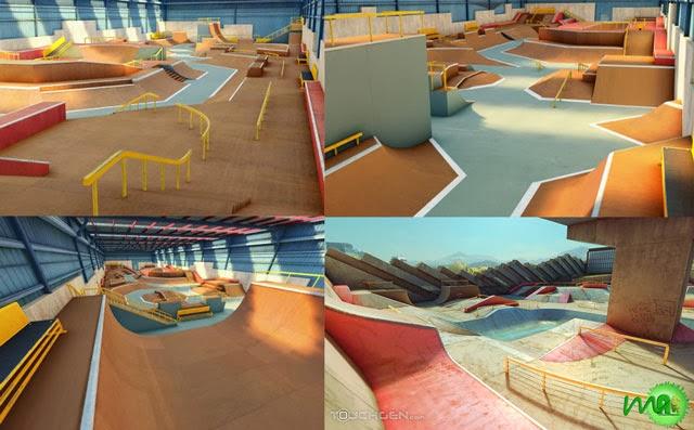 true skate hack all maps ios