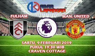 Prediksi Bola Fulham vs Manchester United 9 Februari 2019