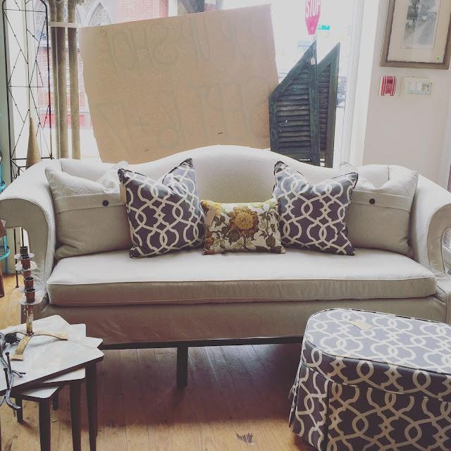 pam morris sews slipcovers. Black Bedroom Furniture Sets. Home Design Ideas
