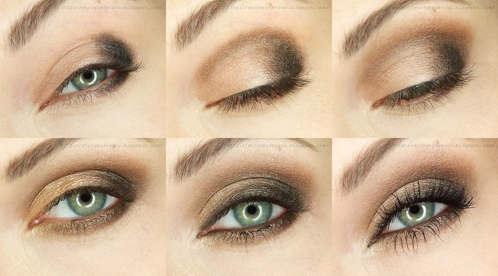 Ferrou Makeup Blog Makijaż Kosmetyki Wieczorowy Makijaż Krok Po