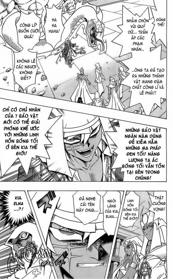 YUGI-OH! chap 287 - hình bóng của cha trang 7