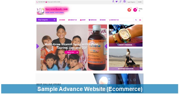 Advance Web Design & Development
