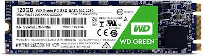 WD Green PC SSD 120 GB