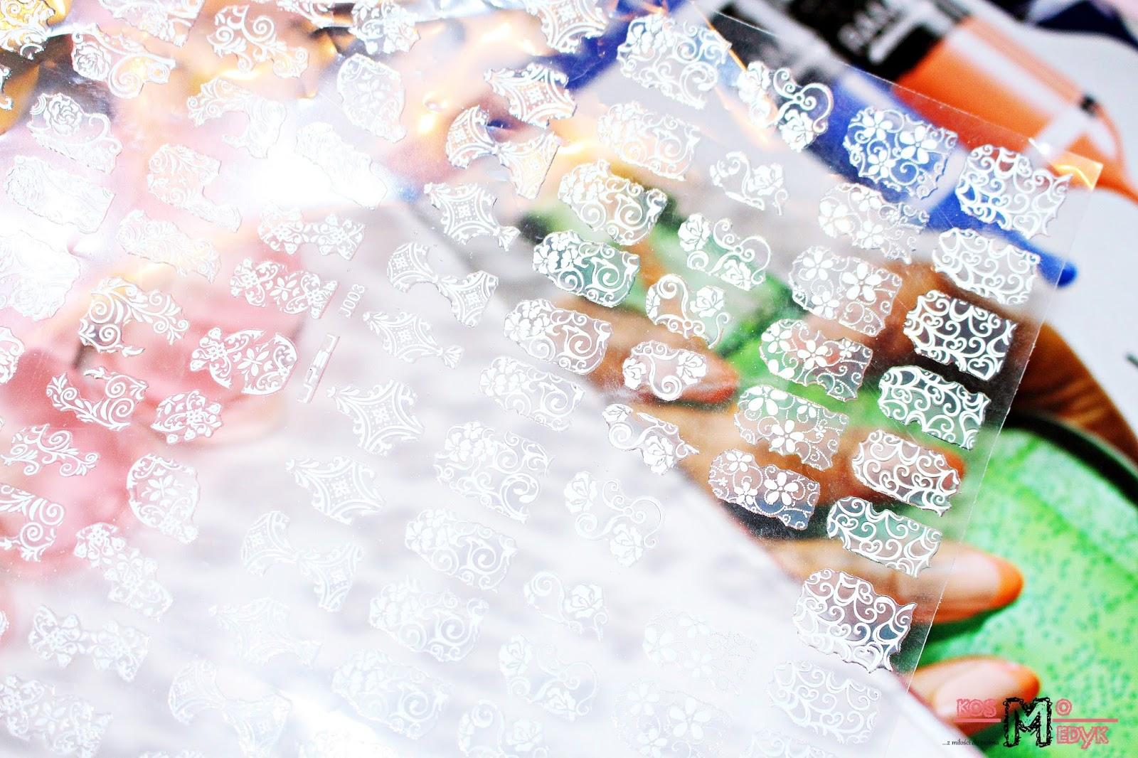 Dresslink - naklejki na paznokcie 3D