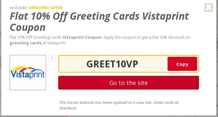 vistaprint coupon codes canada