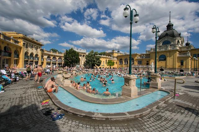 Bagni Szechenyii-Budapest