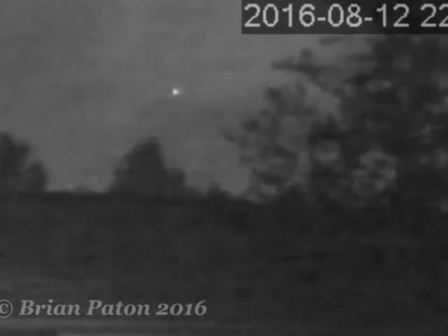 New UFO spotted over Australia.
