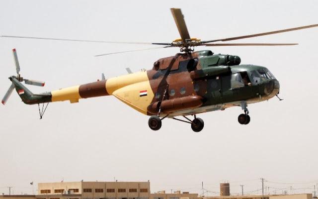 ISIS Klaim Tembak Jatuh Helikopter Mi-17 Irak