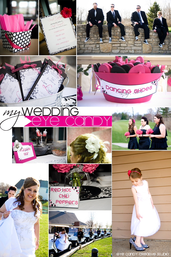 black and white wedding, damask weding, hot pink wedding, wedding ideas, spring wedding ideas