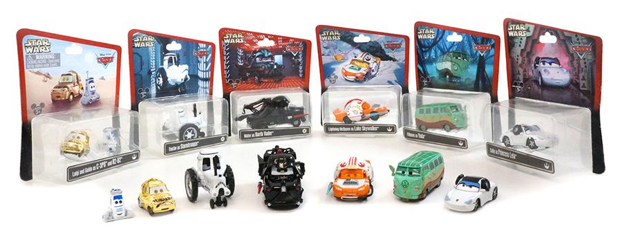 Star wars weekends 2014 release of new pixar die cast star wars cars