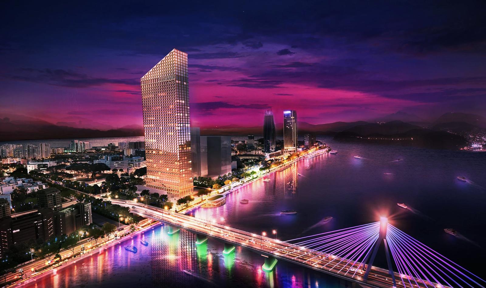 Phối cảnh dự án JW Marriott Đà Nẵng