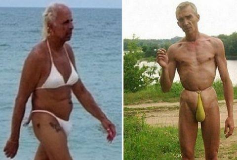 Έσφιξαν οι ζέστες: Οι πιο γελοία παράξενες μορφές που έχουμε δει σε παραλίες! (PHOTOS)
