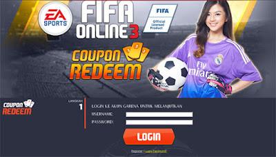 Kode Redeem Code Fifa Online 3 (FO3)