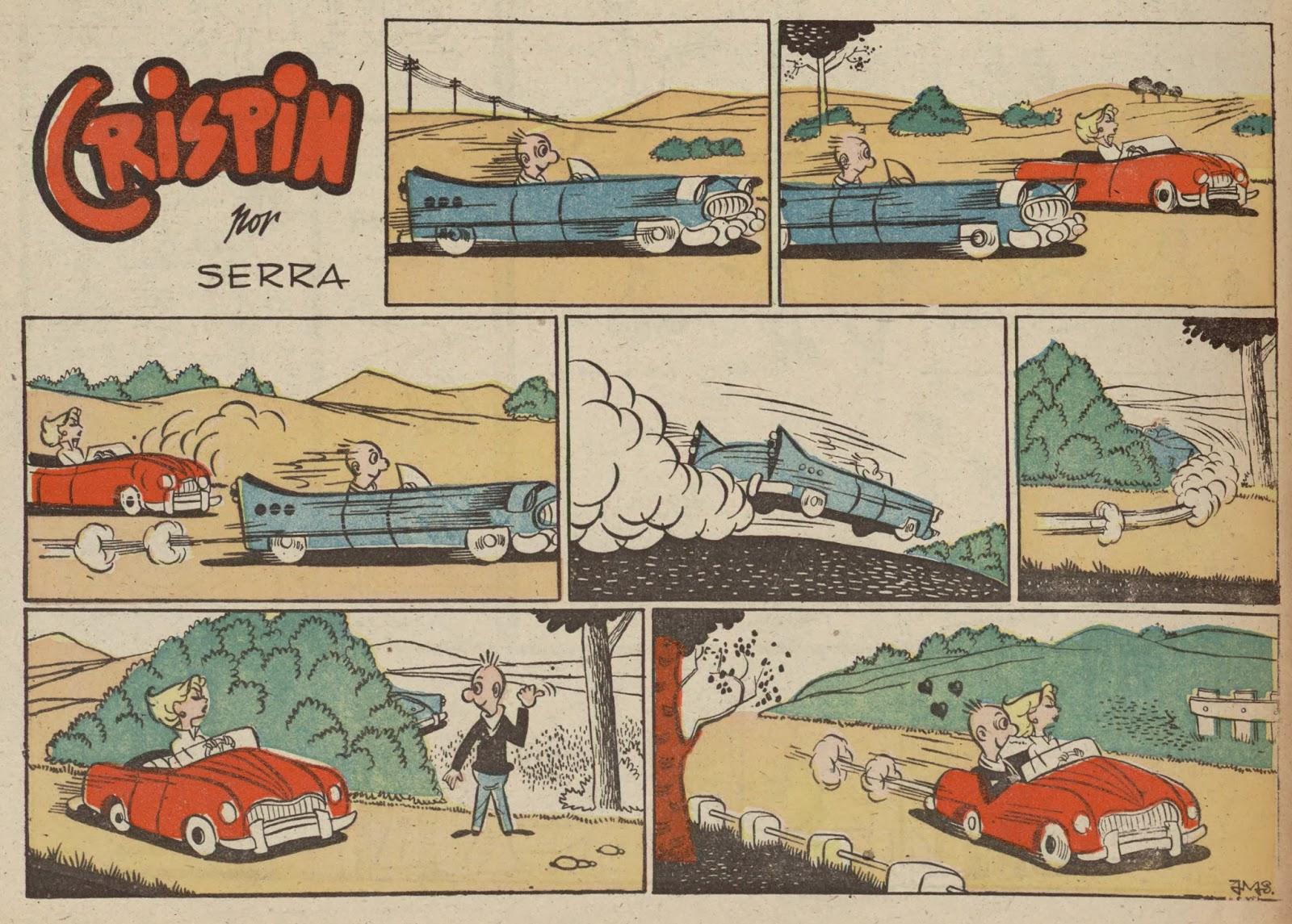 Cirspin, serie de Serra. Imagen pubicada en el nº 18 de Parque, suplemento de Siolidaridad Nacional.