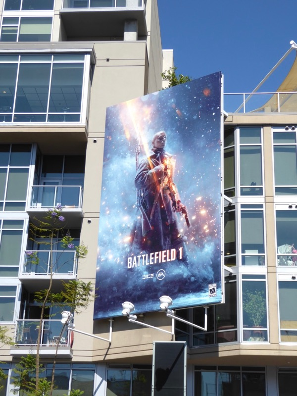 Battlefield 1 EA Games billboard