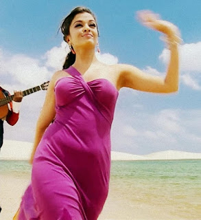 Aishwarya Singing A Song In Long Skirt