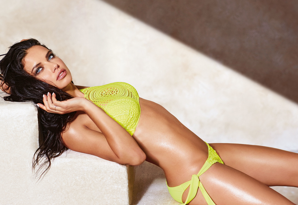 Adriana Lima for Calzedonia Swimwear 2016