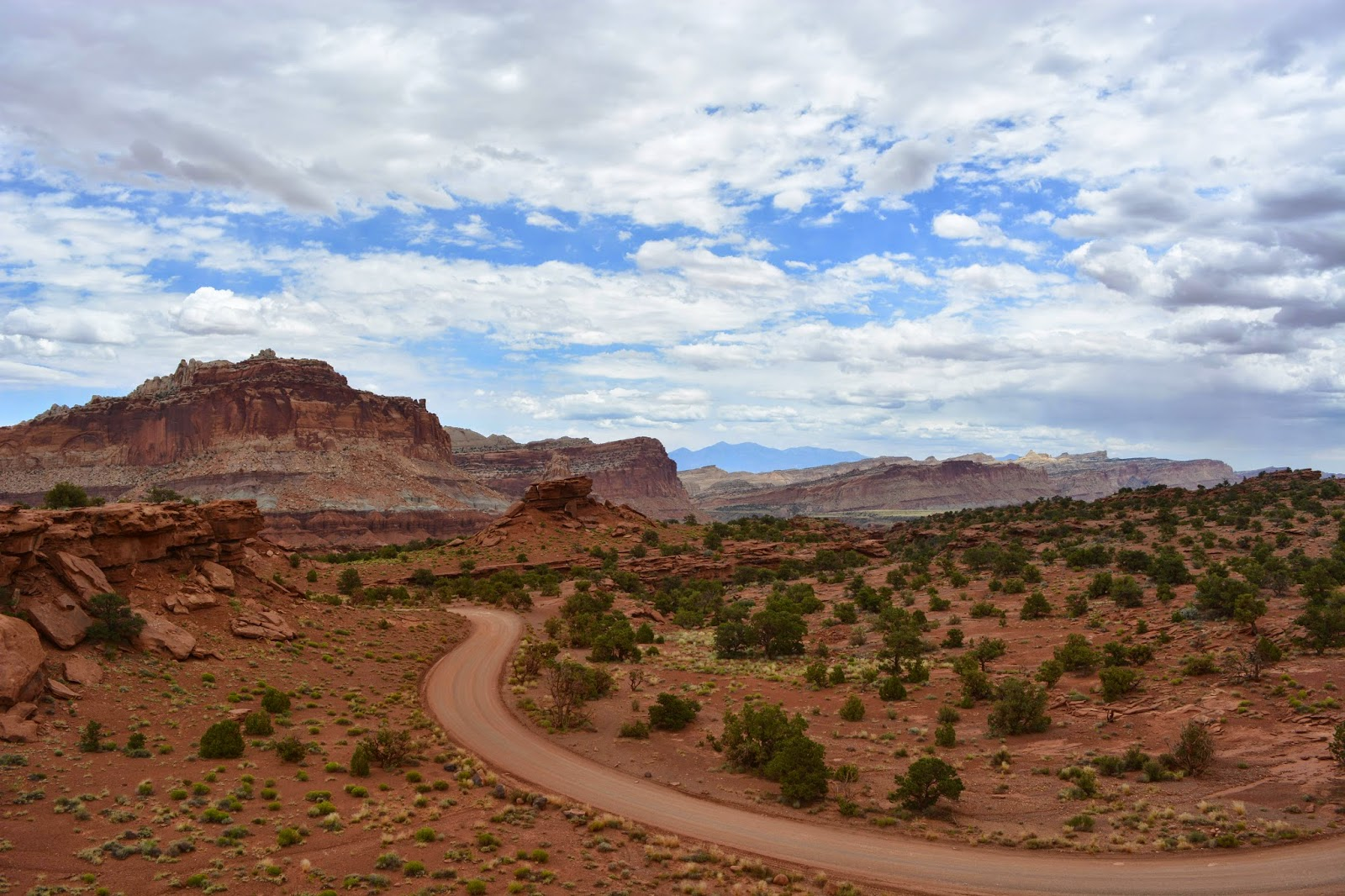 Capitol Reef National Park 圓頂礁國家公園 (上)