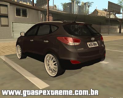 Hyundai IX35 DUB para grand theft auto