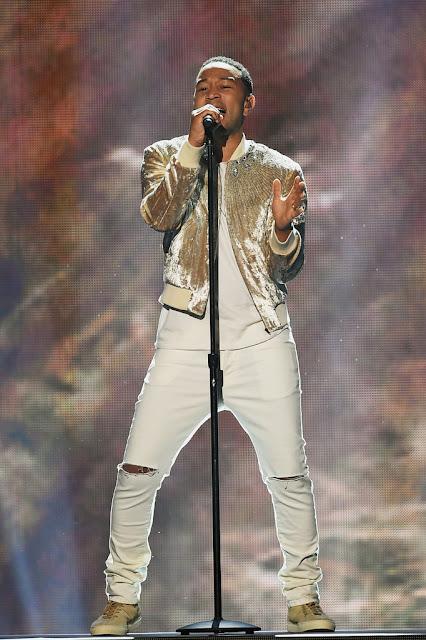 John Legend Singing