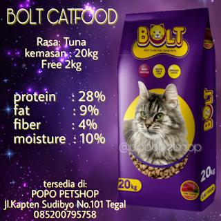 bolt catfood popopetshop