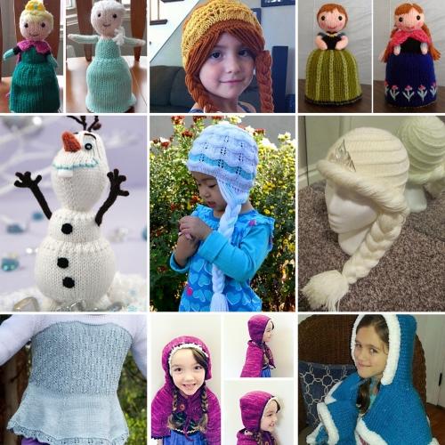 Frozen Knitting Patterns