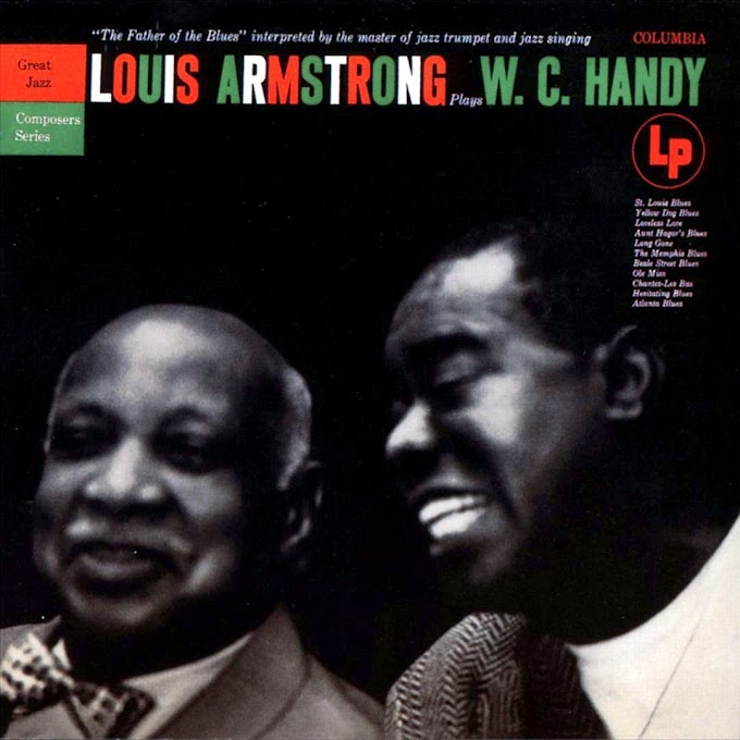 """Louis Armstrong - """"Louis Armstrong plays W.C.Handy"""" [1954]"""