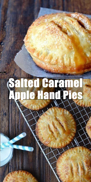 Delicious Salted Caramel Apple Hand Pies Recipe