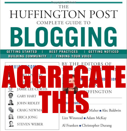 Syndicating Aggregating Blog Posts Articles SEO Traffic Mike Schiemer Huff Post