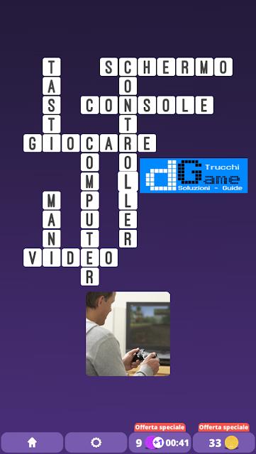 Soluzioni One Clue Crossword livello 24 schemi 8 (Cruciverba illustrato)    Parole e foto