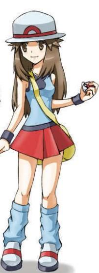 leaf Pokemon cosplay trainer