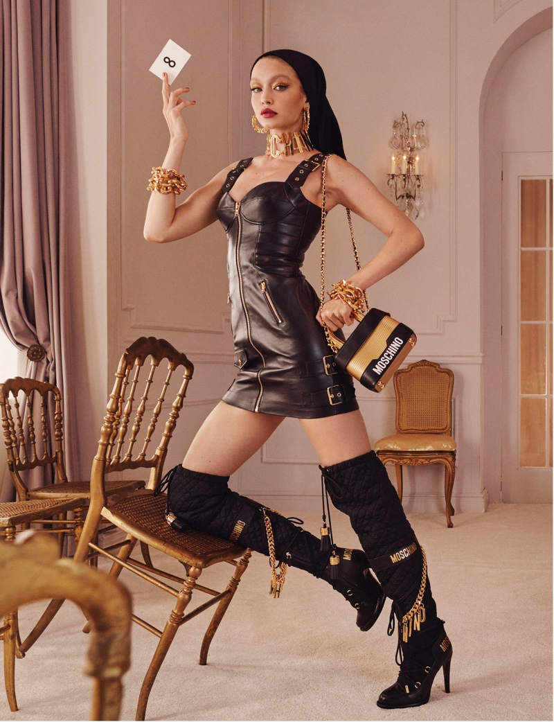 Steven Meisel photographs H&M x Moschino collection campaign