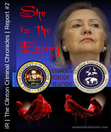 Hillary, Clinton, CFR, Council on Foreign Relations, 2016, Shadow Government, Election, President, POTUS,