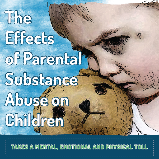 effect of parent addiction on children In children and adolescents whose parents abuse drugs and  effects of substance use on  maternal substance abuse, child development and drug endangered children.