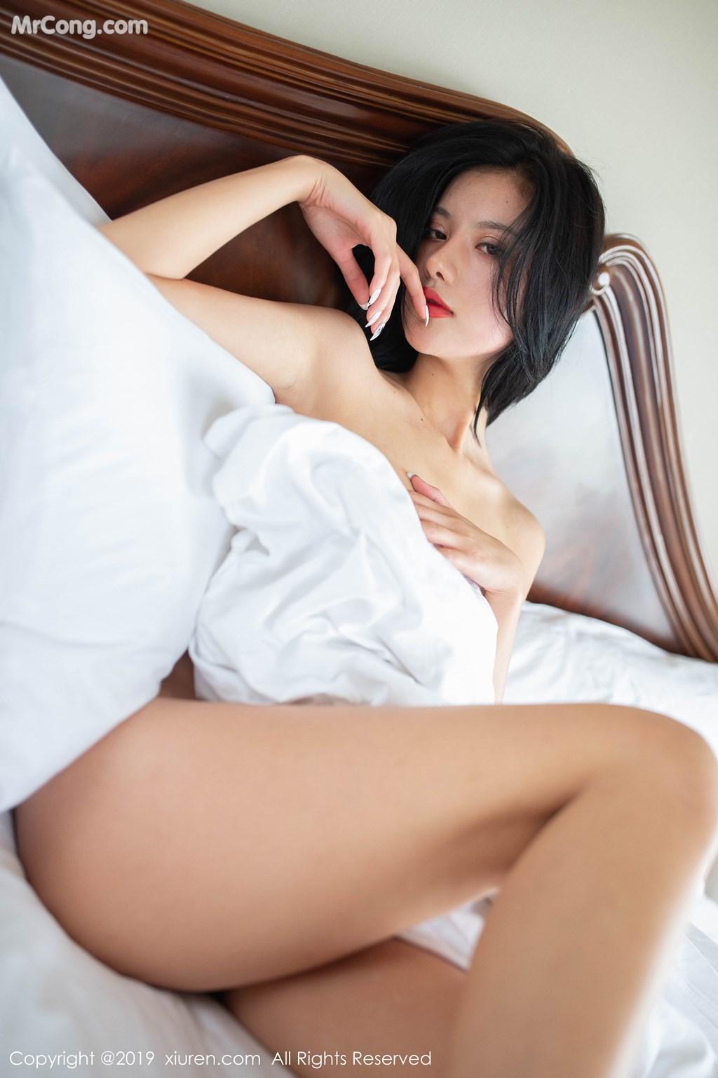 Image XIUREN-No.1597-Jiu-Shi-A-Zhu-A-MrCong.com-005 in post XIUREN No.1597: Jiu Shi A Zhu A (就是阿朱啊) (41 ảnh)