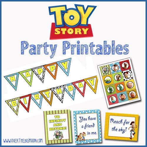 Mini Kit de Toy Story para Imprimir Gratis.