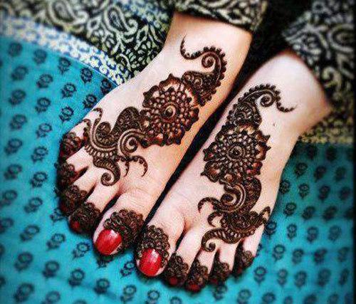 Mehndi Design Simple