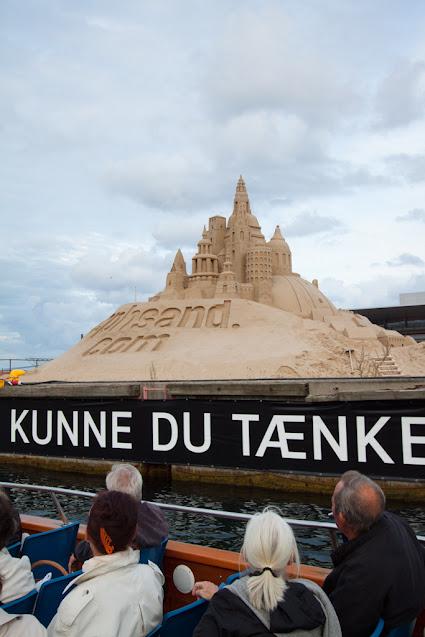 Crociera sui canali di Copenhagen-Castelli di sabbia