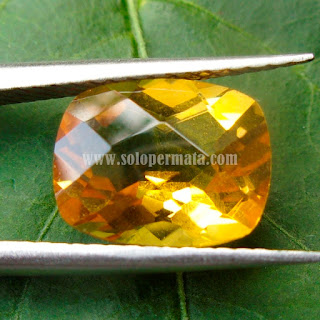 Permata Citrine Golden - A459