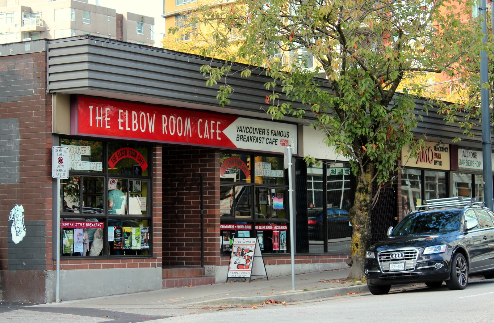 The Murray Chronicles : The Elbow Room Cafe ~ great shtick but....