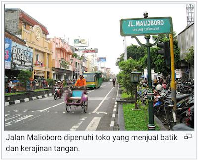 Jalan Malioboro sudah sangat terkenal dan wajib dikunjungi saat berlibur ke Jogja
