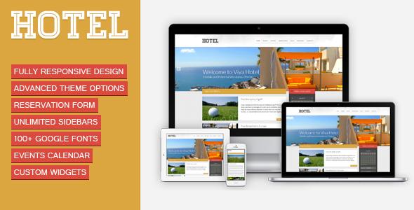 Viva Hotel v1.9 Premium Responsive WordPress Theme