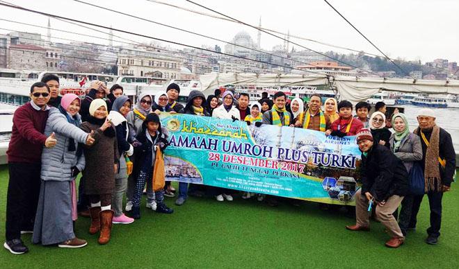 Jamaah Umroh Plus Turki Saat Di Bhosphorus