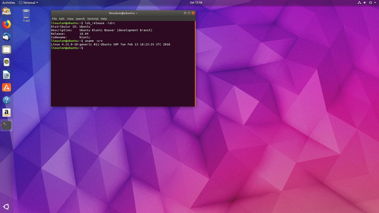 linuxium com au: Second look at Ubuntu 18 04 or Bionic