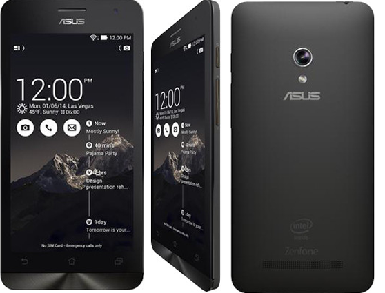 Cara Flash Ulang Asus Zenfone 5 (Work)